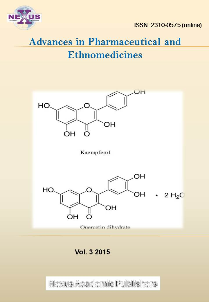 Advances in Pharmaceutical and Ethnomedicines